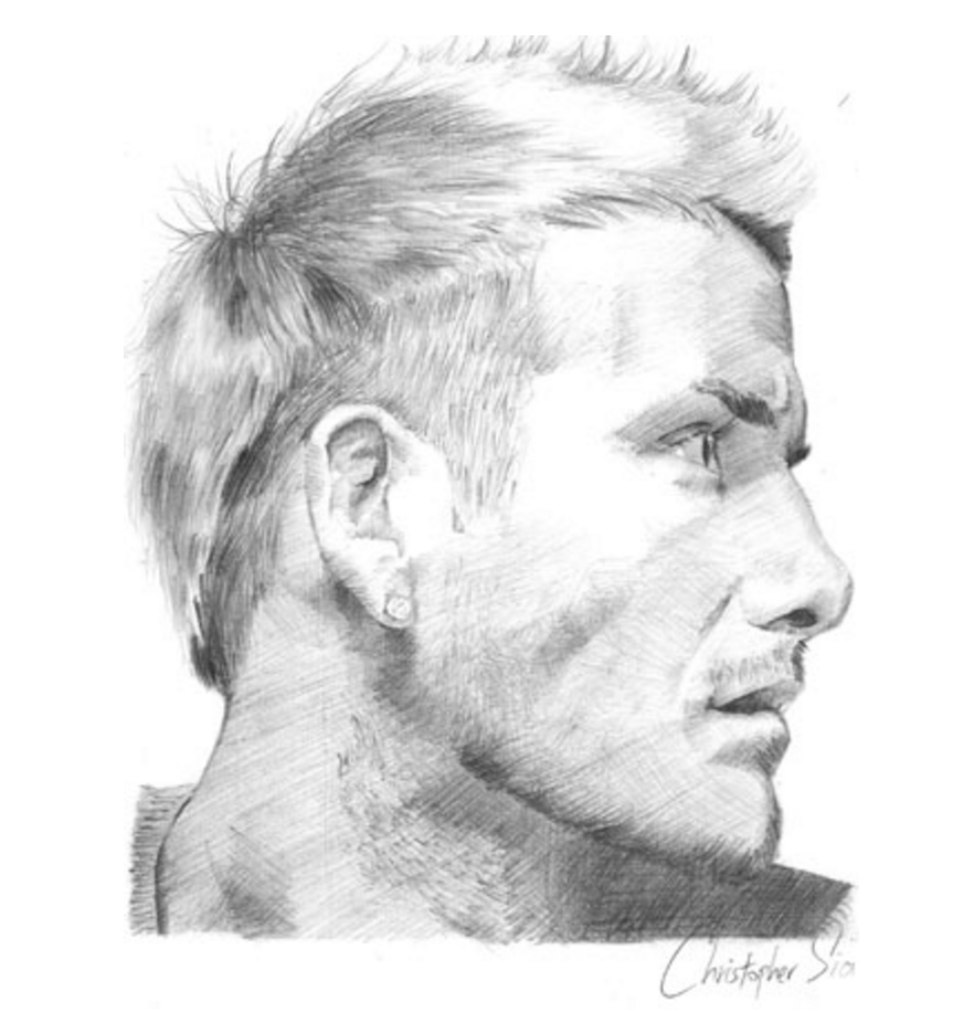 Sias example from realistic pencil portrait mastery