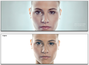 How to learn photo editing portrait enhancement example